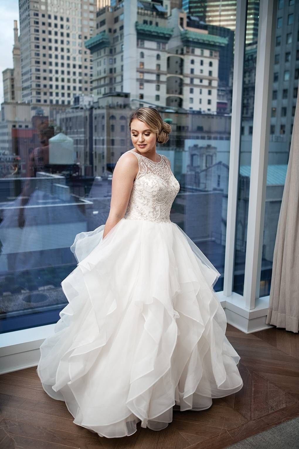 27 Plus Size Wedding Dresses to Flatter and Flaunt Your