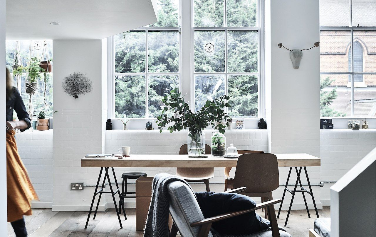Use multi-purpose furniture to divide an open-plan home into ...
