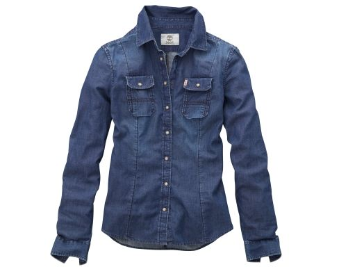 Women's Earthkeepers® Long Sleeve Denim Shirt in a large (or one like it)