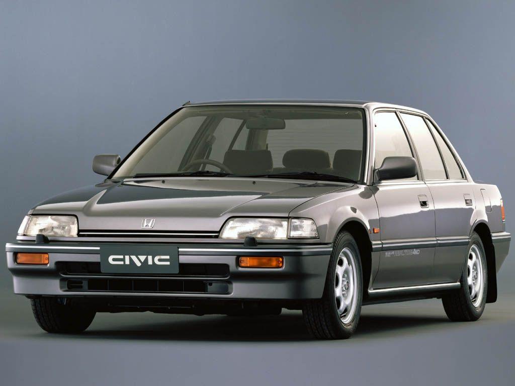 Honda Civic G4 1987 1991 Honda Civic Sedan Honda