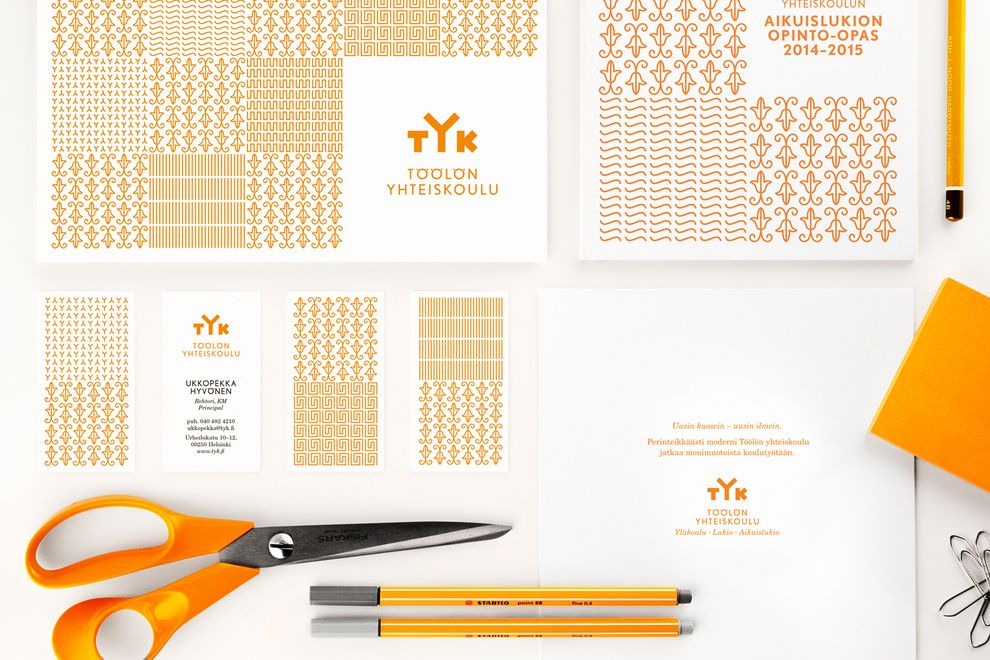 http://www.werklig.com  Branding for Töölön yhteiskoulu (TYK), Finland's oldest adult upper secondary school
