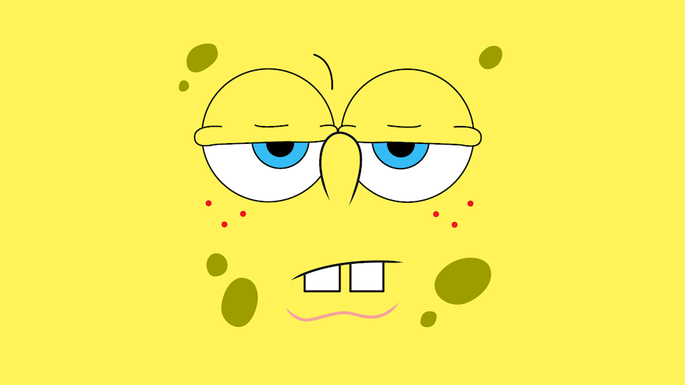 Life Of A Student Athlete As Told By Spongebob Spongebob Wallpaper Cartoon Wallpaper Hd Spongebob Cartoon