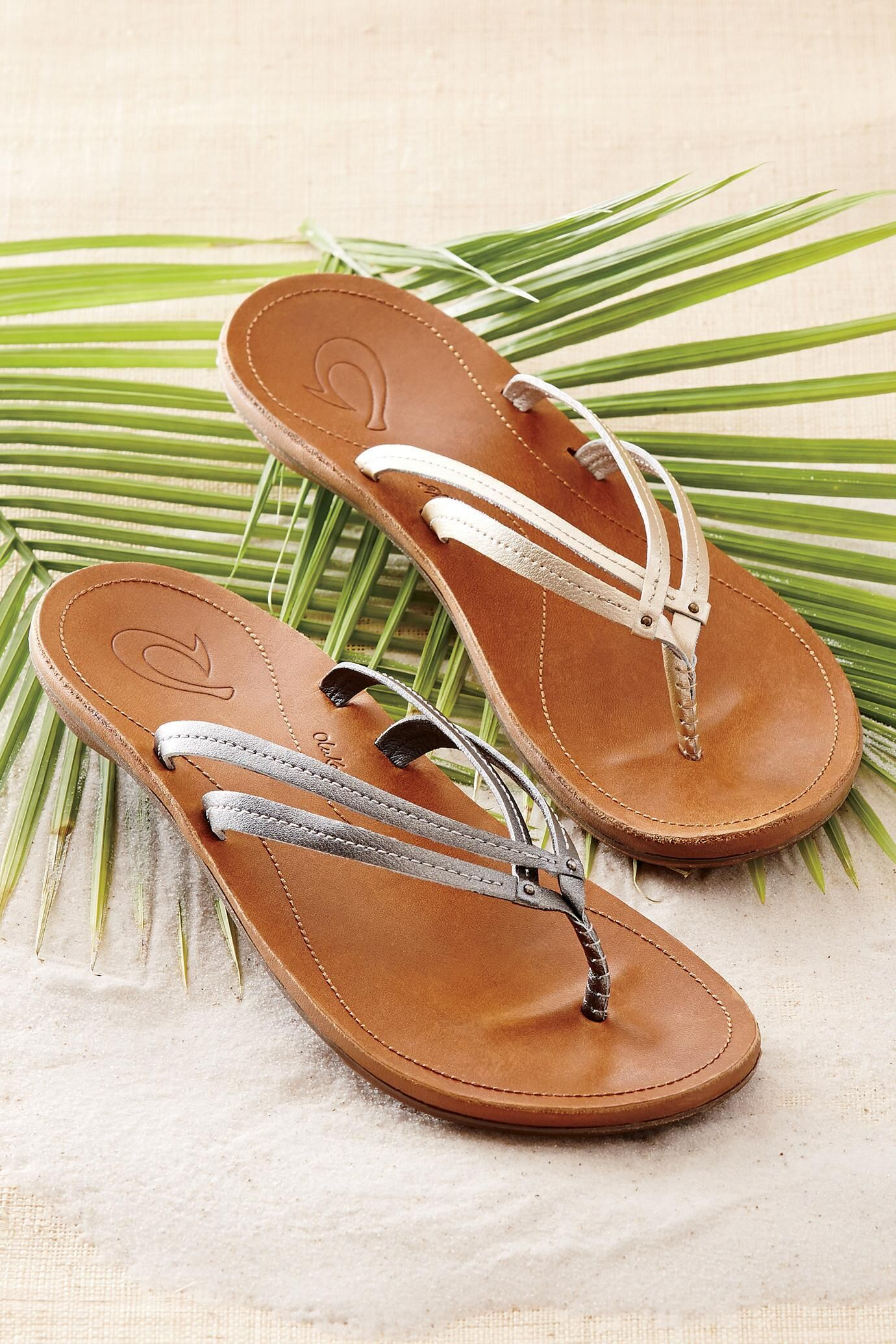 U'I Leather Thong Sandals from OluKai®: Exceptional Casual Clothing for Men & Women from #TerritoryAhead $90.00