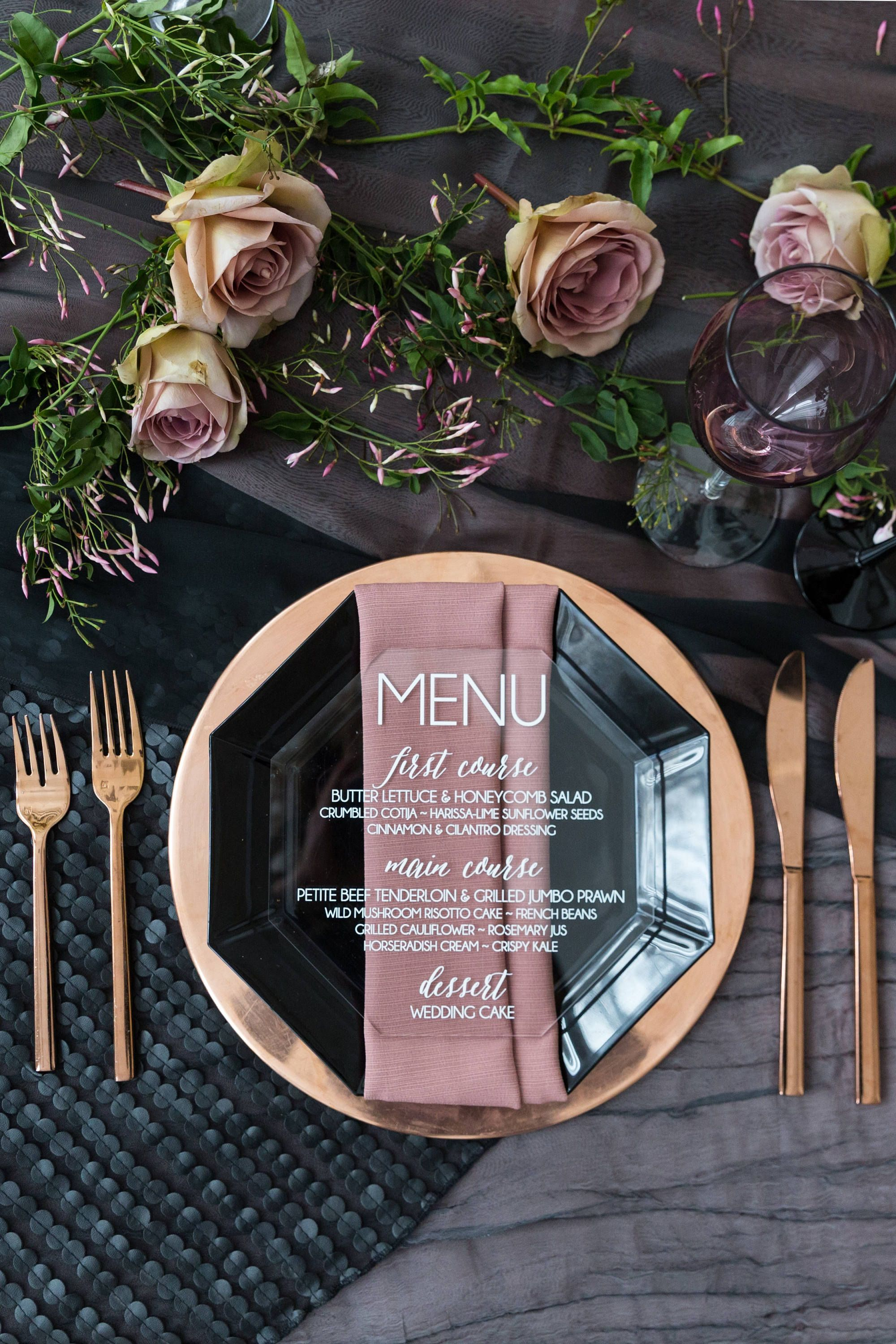 Acrylic Menu, acrylic wedding menus, lucite wedding, wedding menus, acrylic dinner menu, menus, acrylic wedding signs -in #weddingmenuideas