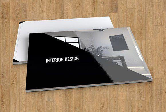 Interior Design brochure templateV17 by Template Shop on - interior design brochure template