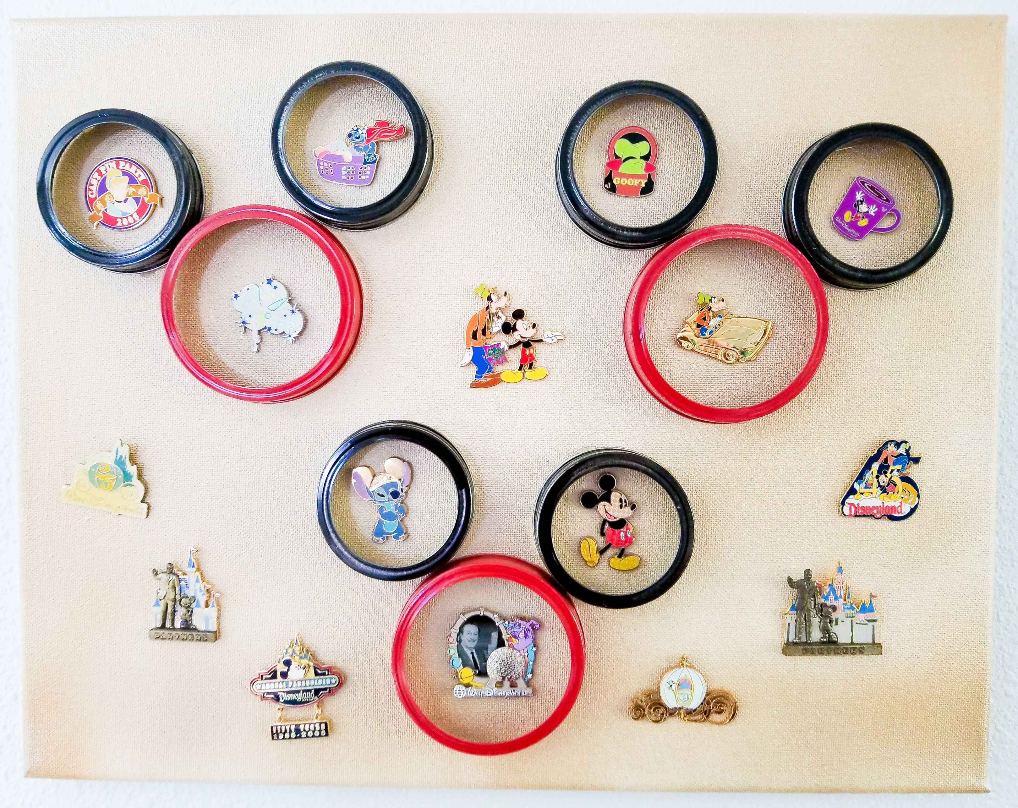 DIY Disney Pin Board - Disney Pin Display Idea | Brought to You by ...