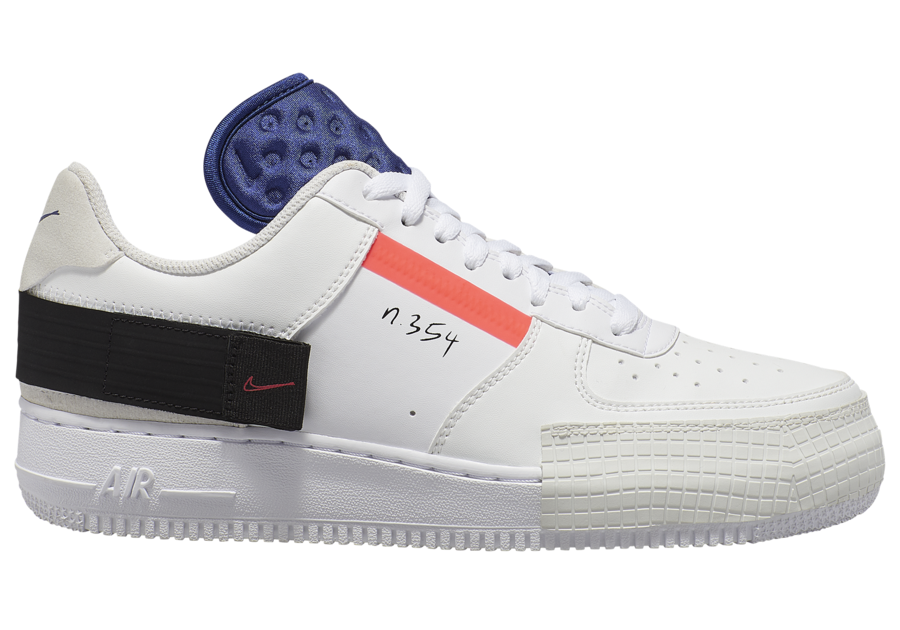 Nike Air Force 1 AF1 Low Type CI0054 100 Release Date SBD