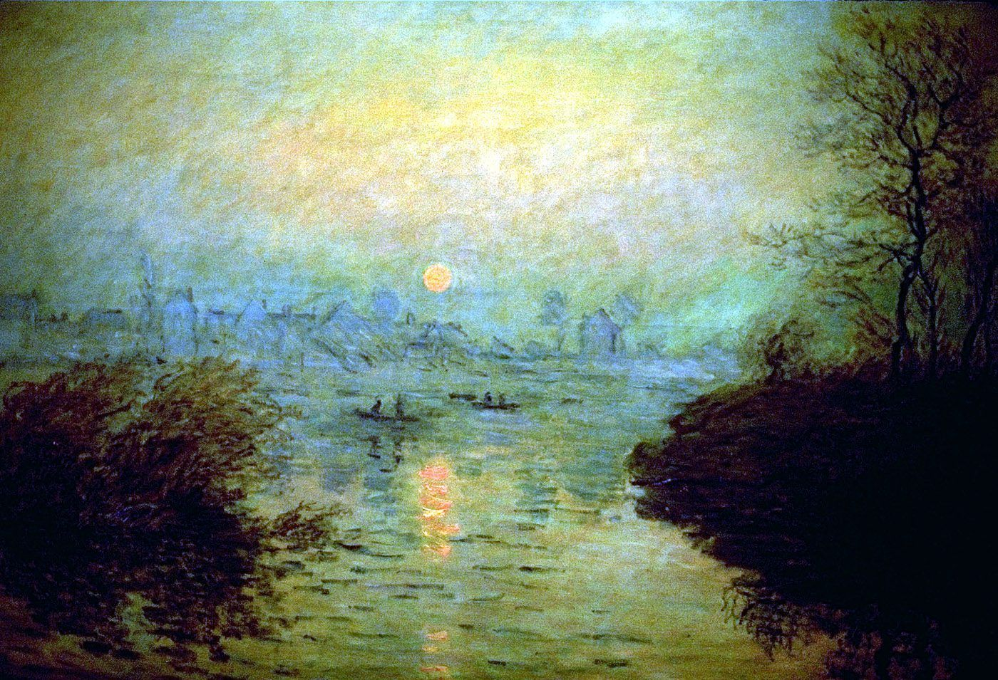 Claude Monet Silver Velvet Sky Artist Monet Impressionist Paintings Claude Monet