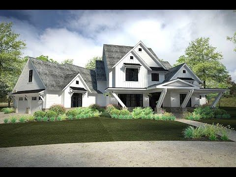 Plan 16897WG Exciting Farmhouse House Plan with Game Room
