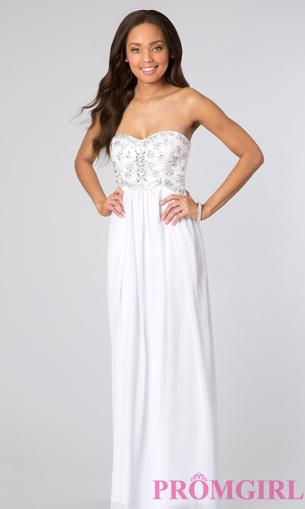 Beaded strapless prom dress shops prom dresses and long prom dresses