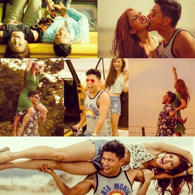 Cool Couple Iya And Drew Prenup Shoot