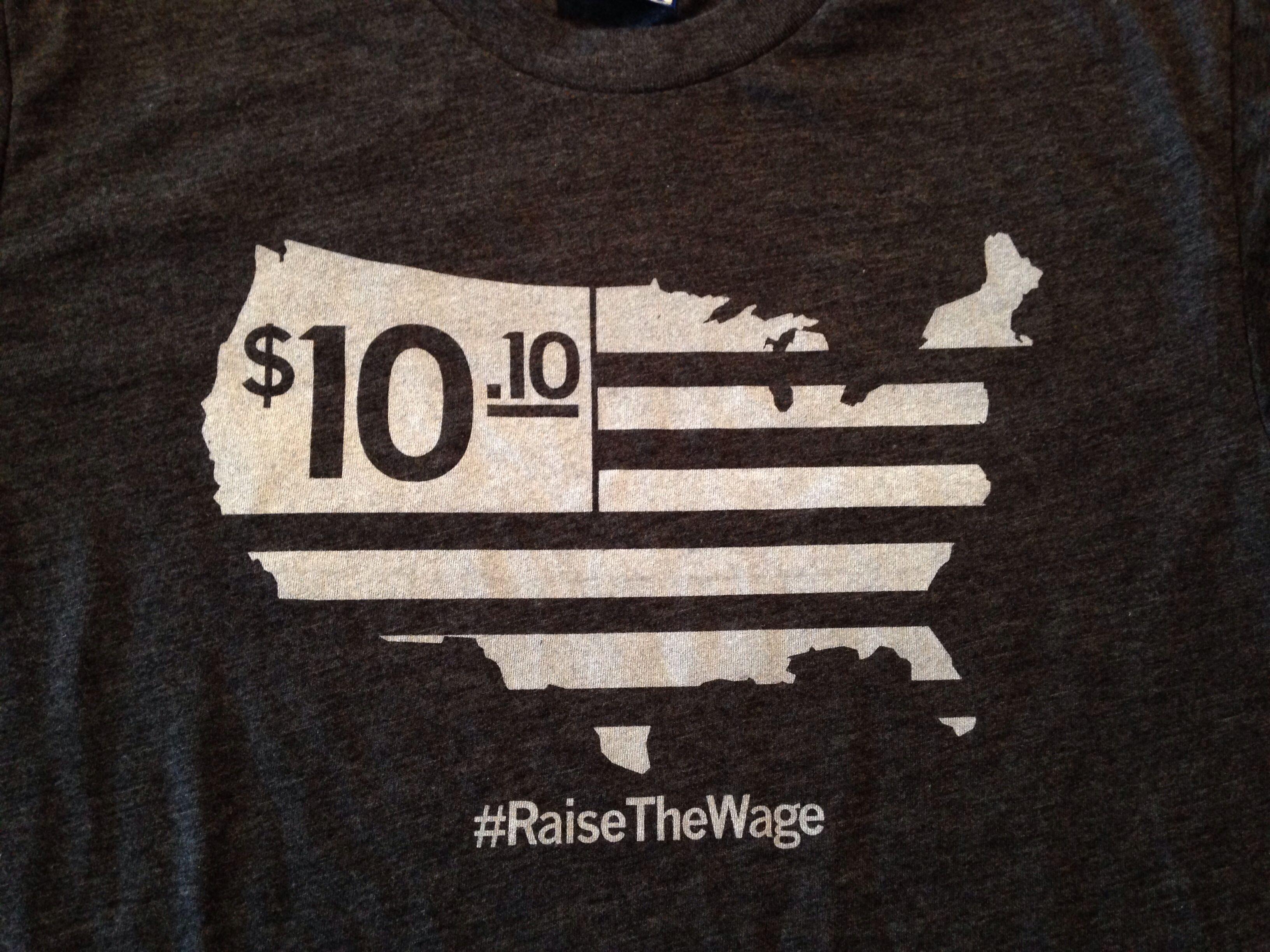 Raygun #RaisetheWage shirt