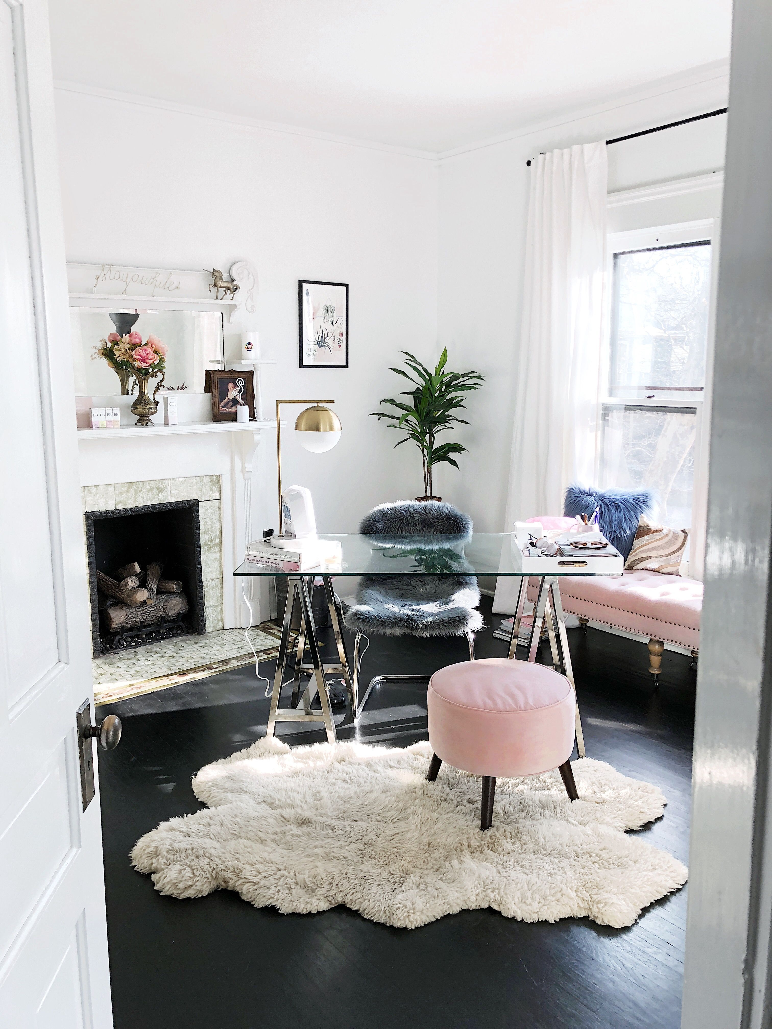 Feminine Home Office Decor Inspiration The Office Of Graphic