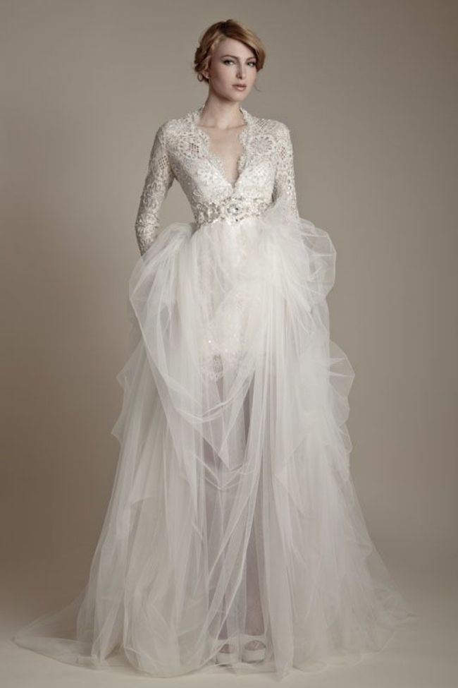 Winter Wedding Dresses ✈ Friday\'s FAB 5 | Winter weddings ...
