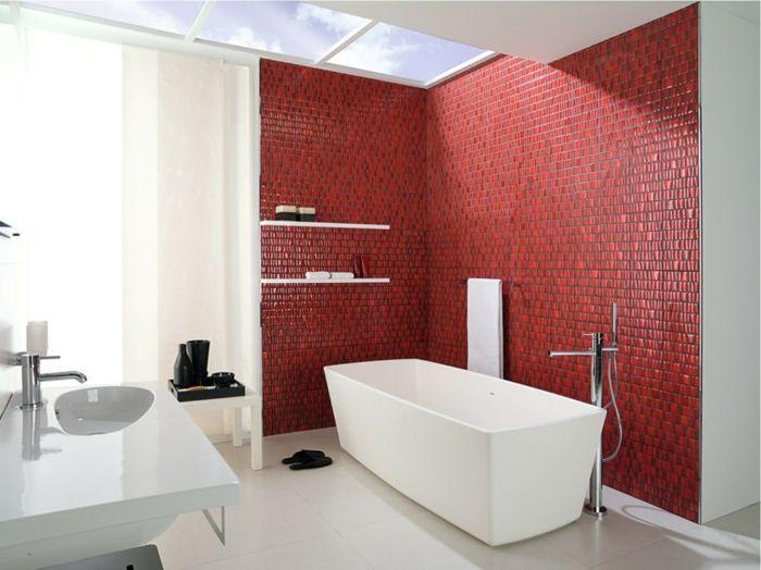 Badezimmer Kosten ~ Rote fliesen badezimmer die schönsten einrichtungsideen