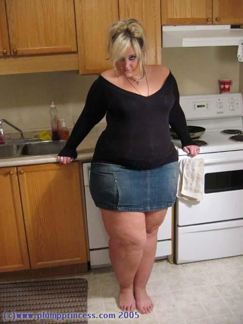 Plump Princess and her perfect legs | Bbw