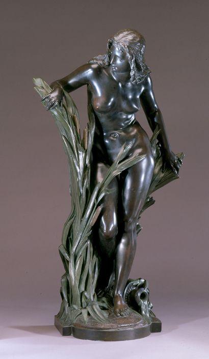 Title: Woman in Reeds (Undine) Artist: Albert- Ernest