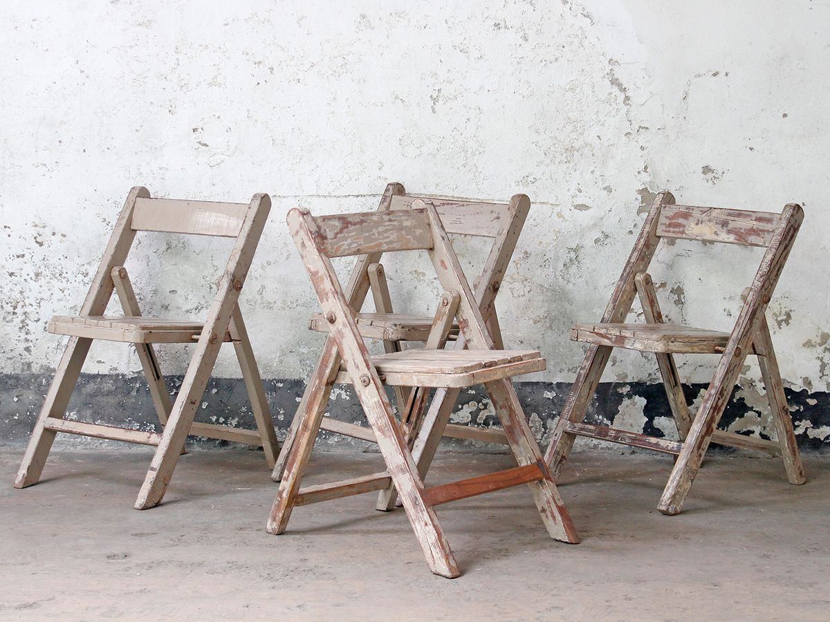Cream Folding Chair Scaramangau0027s Unique Collection Of Global Finds #boho  #vintageliving #inspo #