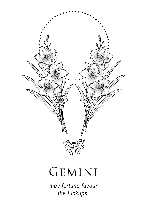 Amrit Brar\'s Portfolio - Book X: Lovers & Losers | Gemini fact fun ...