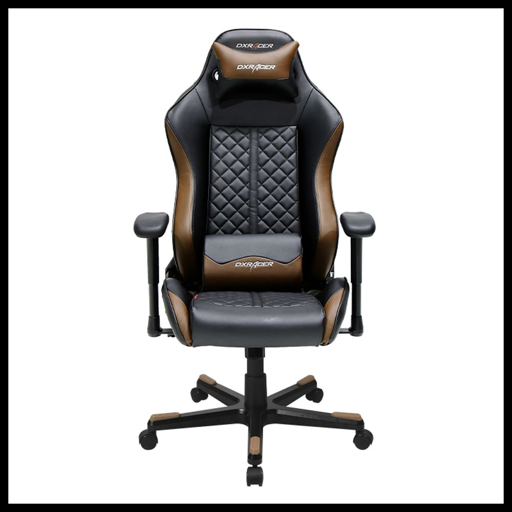 Best computer chair for gaming - Dxracer Black Brown Executive Office Chair Playstation4 Cod Callofduty