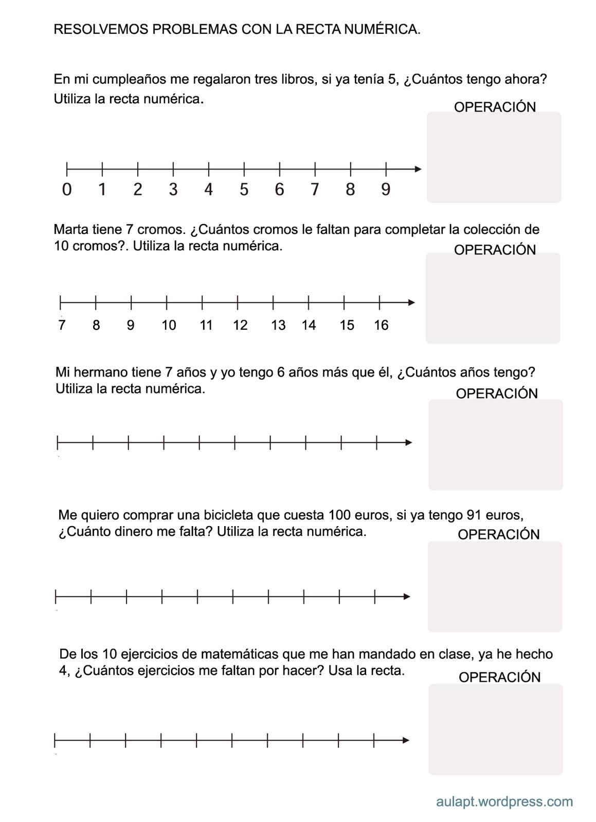 Actividades De Refuerzo Y Ampliacion Rectas Numericas Hasta 500 Recta Numerica Actividades De Matematicas Matematica Ejercicios