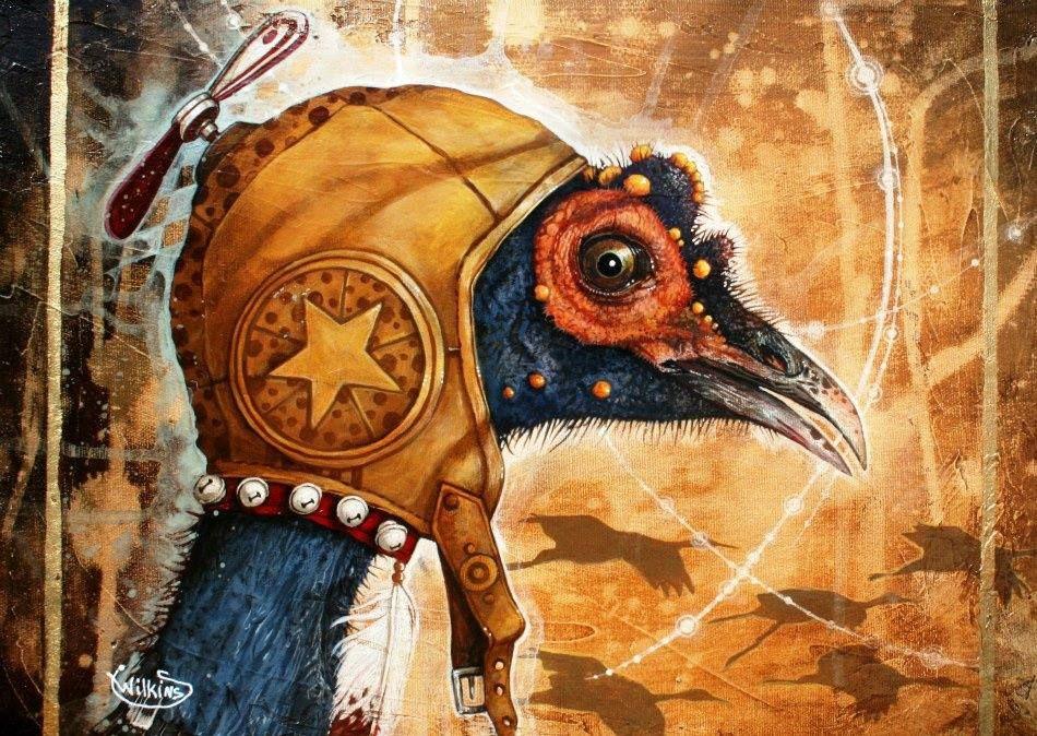 Sophie Wilkins Art, Animal paintings, Whimsical art