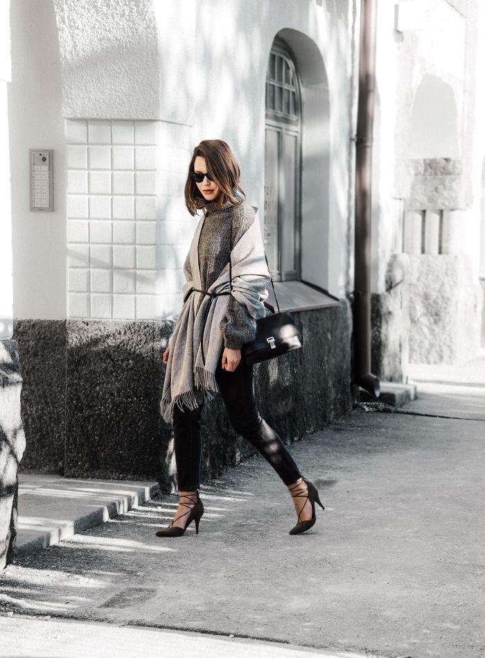 Poncho outfit - Fashionweek 2.0