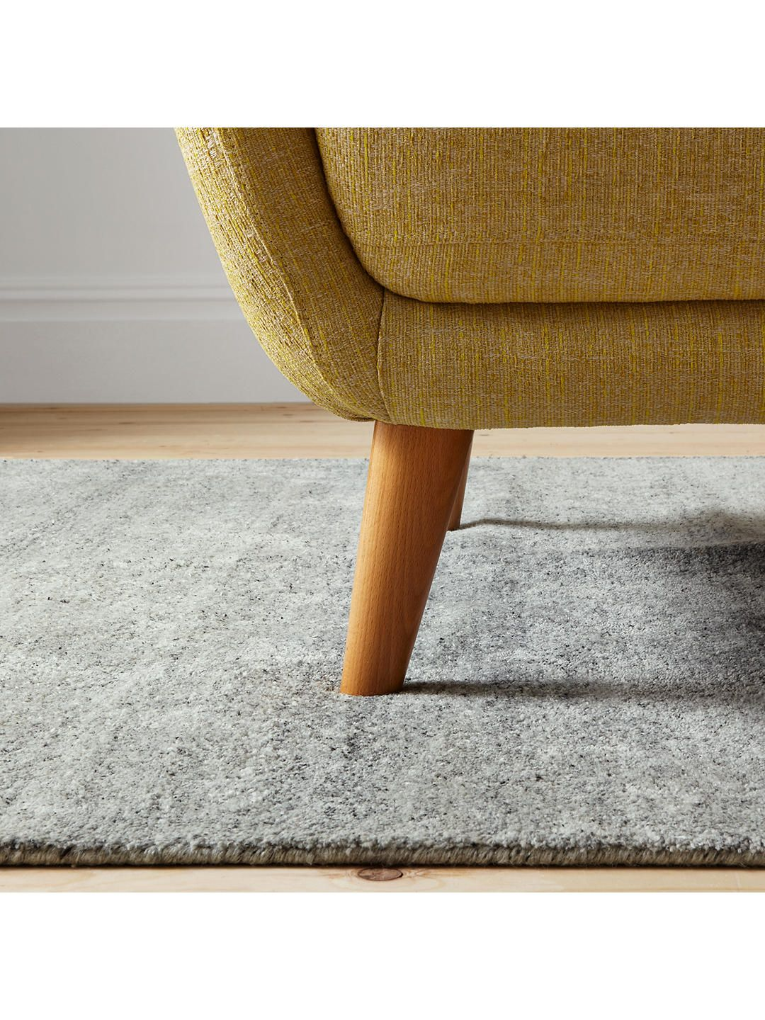 House By John Lewis Shaded Rug Grey
