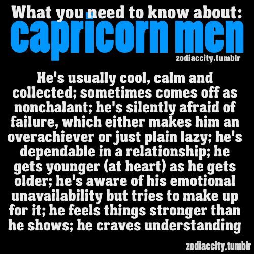 Capricorn man signs he likes you