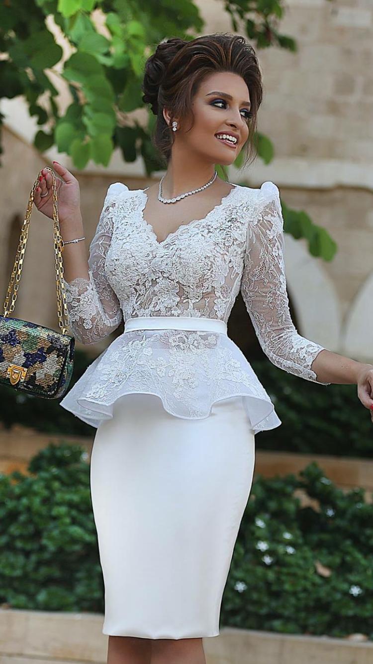 White net white net fashion pinterest dresses lace and peplum