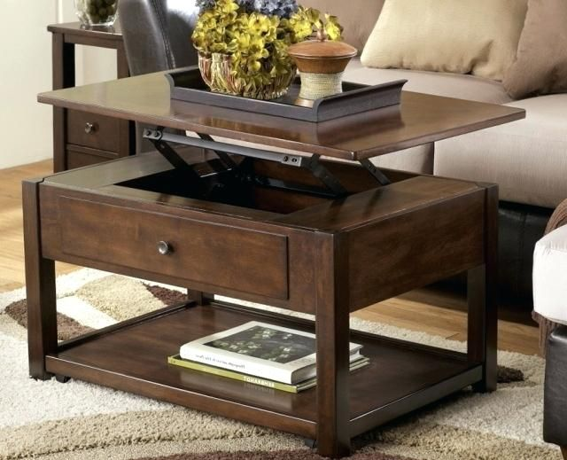 Awesome pop up coffee table with storage Arts, idea pop up ...