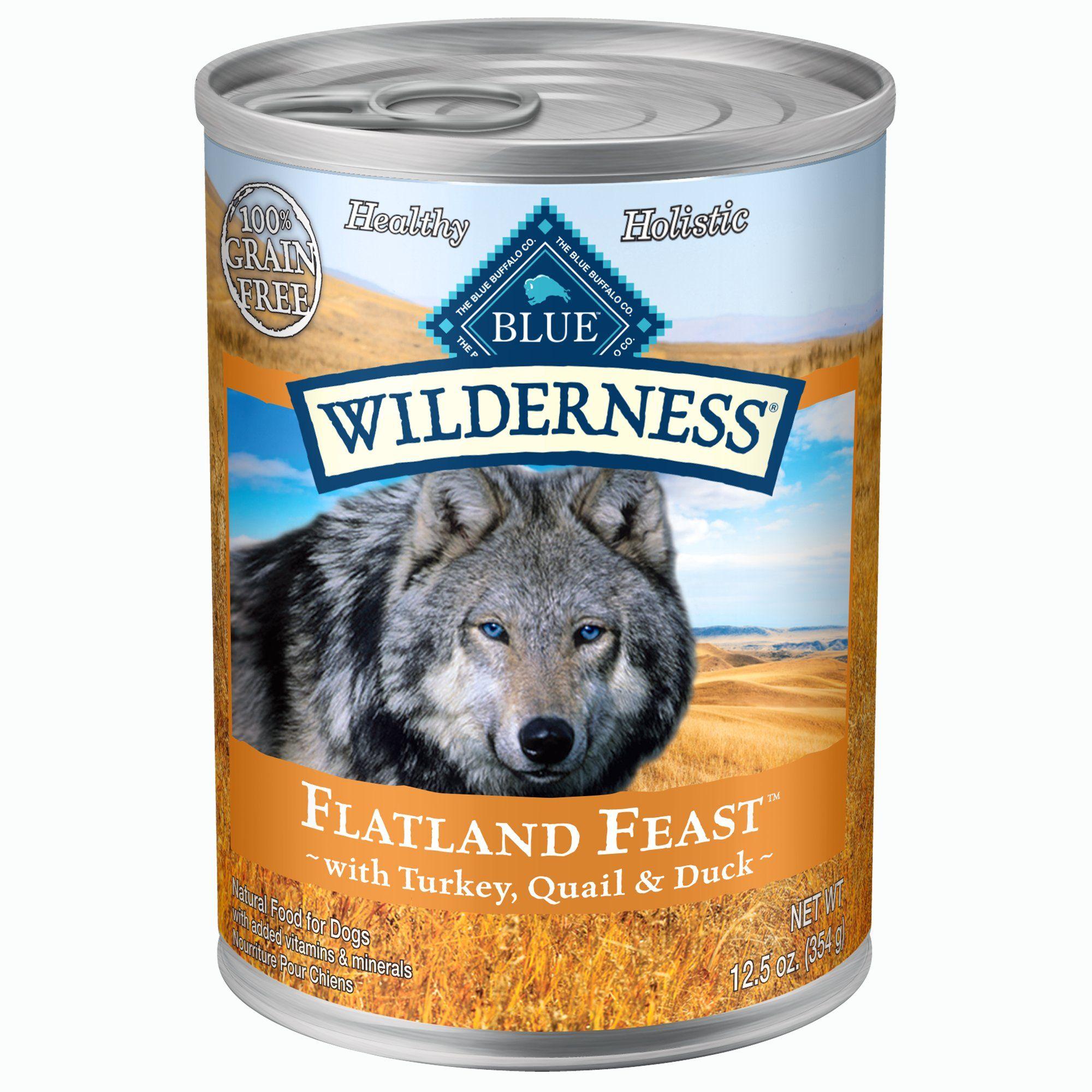 Blue Buffalo Blue Wilderness Flatland Feast Adult Turkey Quail