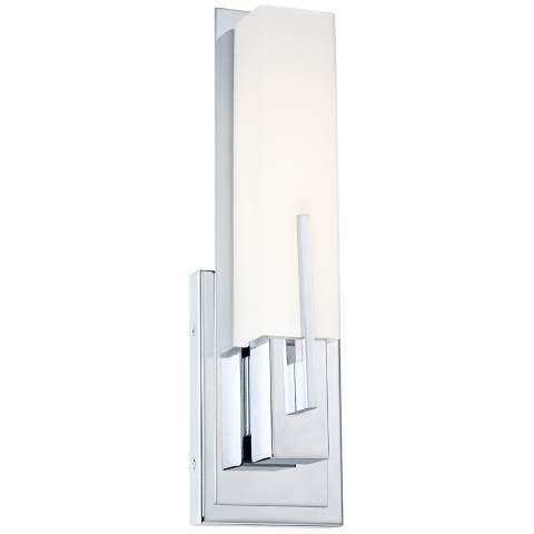 Possini Euro Midtown 15  High White Glass Bronze Wall Sconce - #Y0169 | .l&splus.com  sc 1 st  Pinterest : possini wall sconce - www.canuckmediamonitor.org