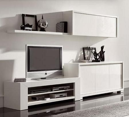 mueble tele..........@ | Muebles | Pinterest | Diseño minimalista ...
