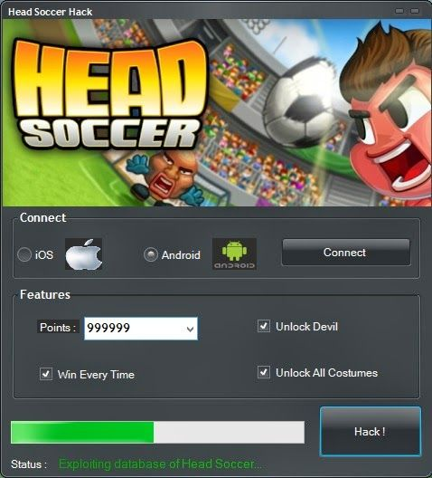 Top Head Soccer Hack Tool Ios Android Feel Free Cheats