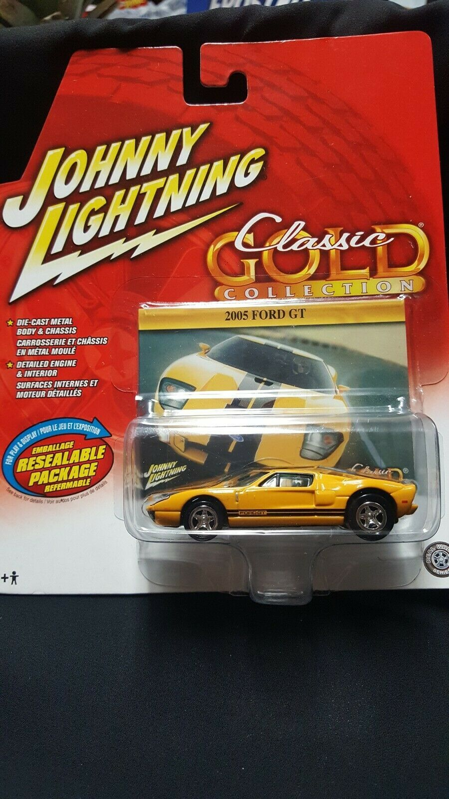 Johnny Lightning Classic Gold Collection 2005 Ford Gt In 2020 Ford Gt Gold Collection