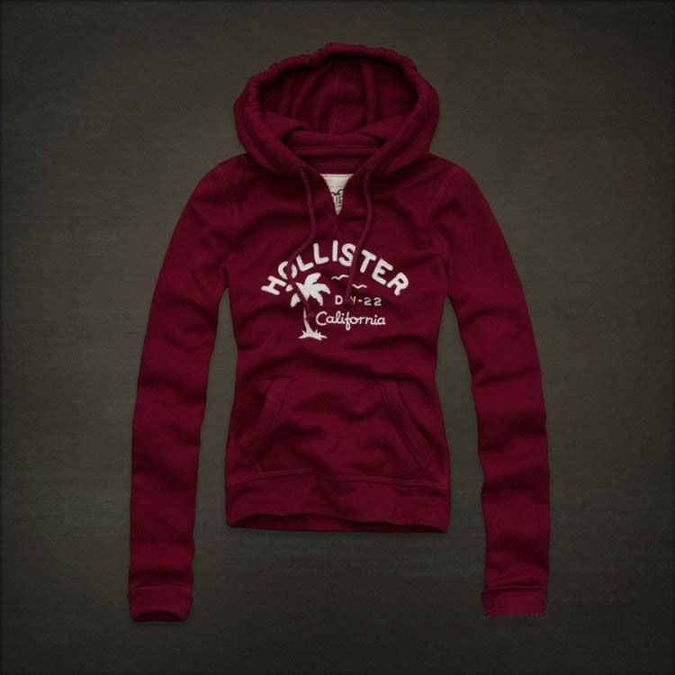 Hollister-Daley-Ranch-Hoodies-Red.jpg (750×750) | Hollister girl ...
