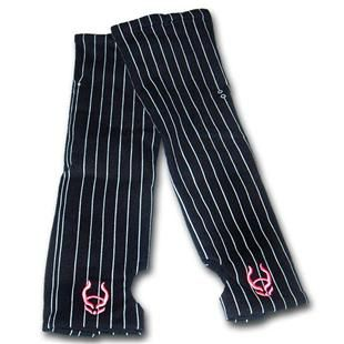 Pinstripe armwarmers (short- elbow length)