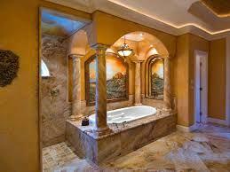 Amazing Tuscan Style Bathroom Designs Home Design Wonderfull Brown  Mediterranean Photos Hgtv Awesome