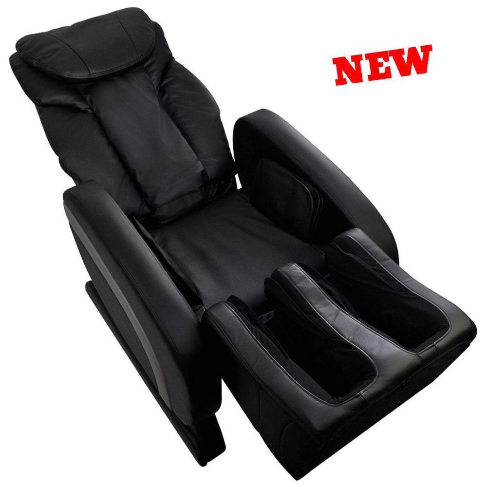 Enjoyable Electric Recliner Massage Chair Full Body Shiatsu Heat Zero Bralicious Painted Fabric Chair Ideas Braliciousco