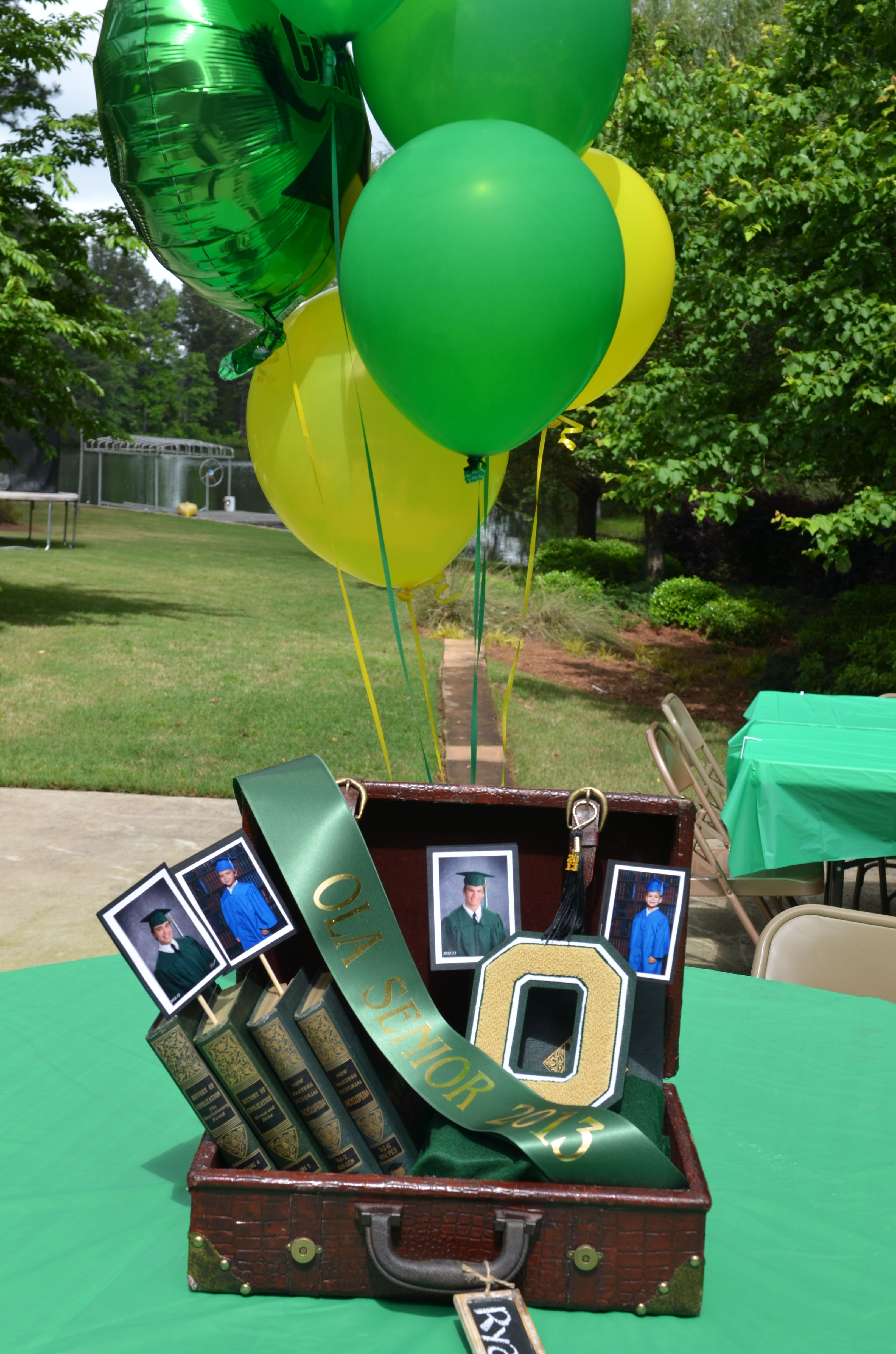 Centerpiece for Boys | Graduation party centerpieces ...