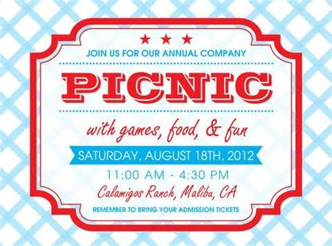 picnic flyers yahoo image search results church inspiration