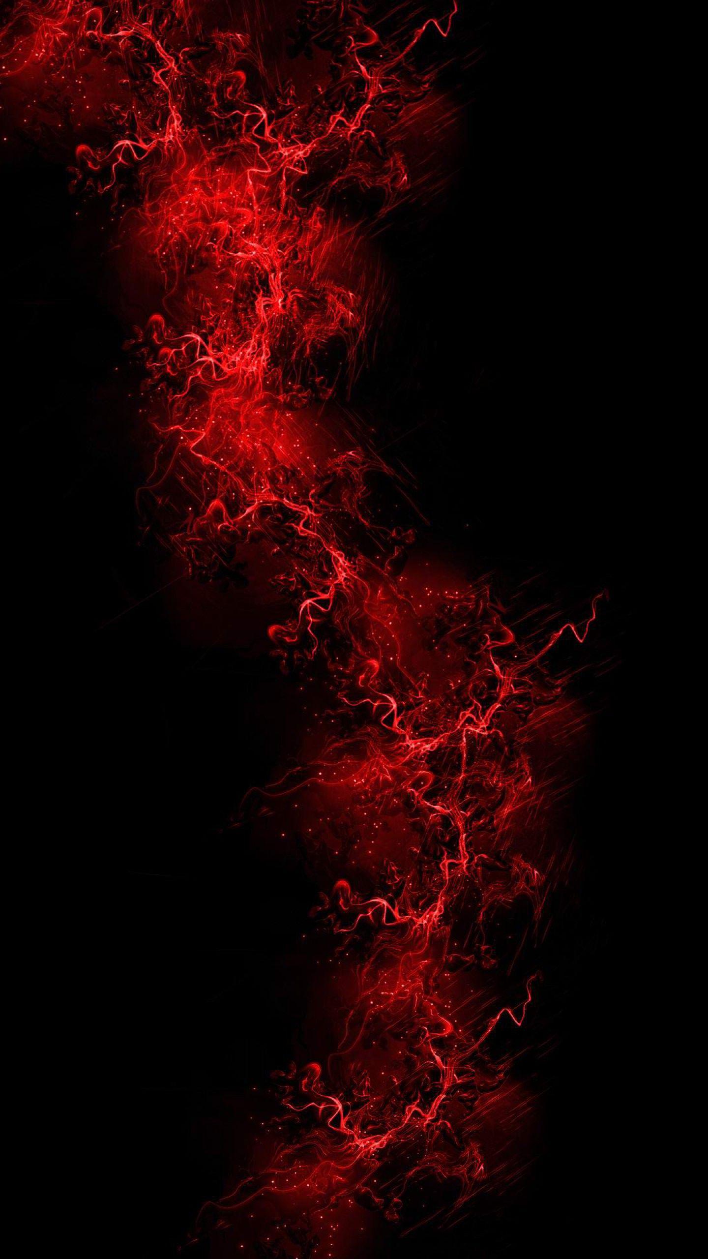 Картинки на телефон красные с черным