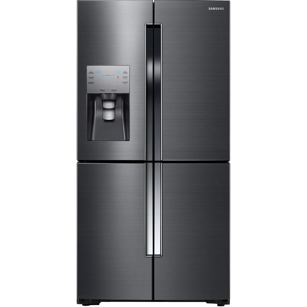 Samsung 22.5 cu. ft. French Door Refrigerator in Fingerprint ...