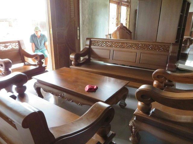 Furniture Jati Blora #Meja Kursi tamu full kayu jati# #teak #teakfurniture  Legal