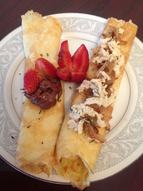 """Two-Way"" Crepes (gluten/dairy free version available)"