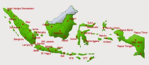 Peta Indonesia Didalamnya Terdapat Nama Provinsi Diseluruh Wilayah Kamu Tinggal