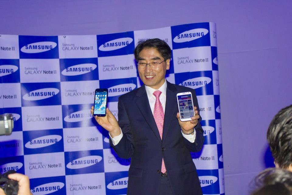 Samsung presentó el día de ayer, 15 de noviembre, en el Perú al nuevo integrante de la categoría Note: El Galaxy Note II.