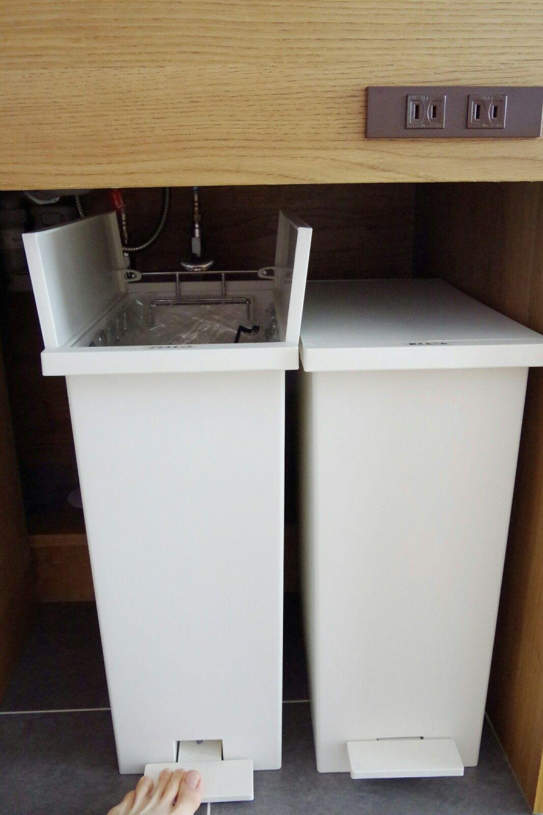 キッチンごみ箱のおすすめ置き場所 新築だからできる収納方法を紹介 ゴミ箱 おしゃれ キッチン キッチン ゴミ箱 収納 ゴミ箱 キッチン