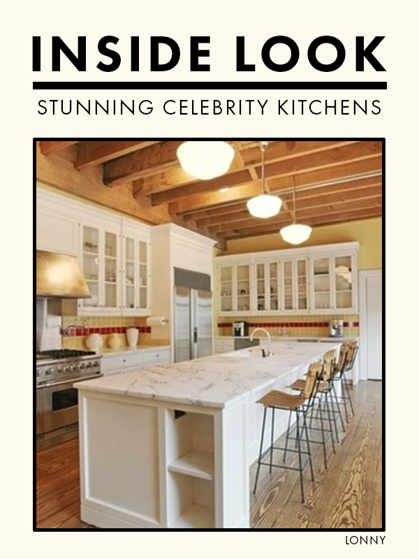 The Most Celebrity Kitchens Celebrity kitchens
